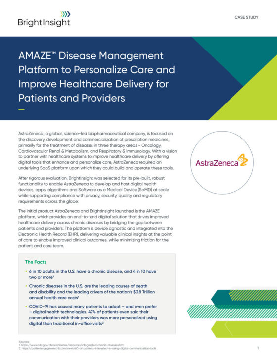 Case Study Astra Zeneca AMAZE Disease Management Platform 1615824731