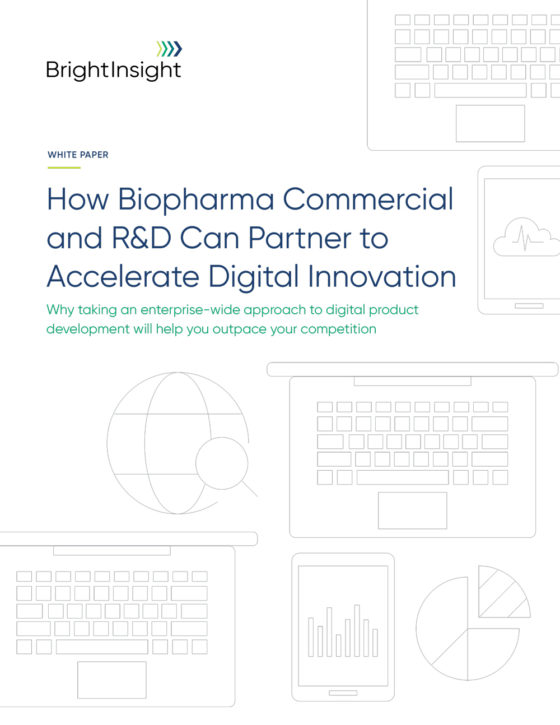 White paper how biopharma commercial and rd can partner to accelerate digital innovation 1619710522