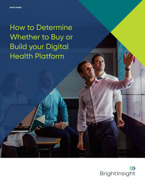White papers how to determine whether to buy or build your digital health platform 1588702922