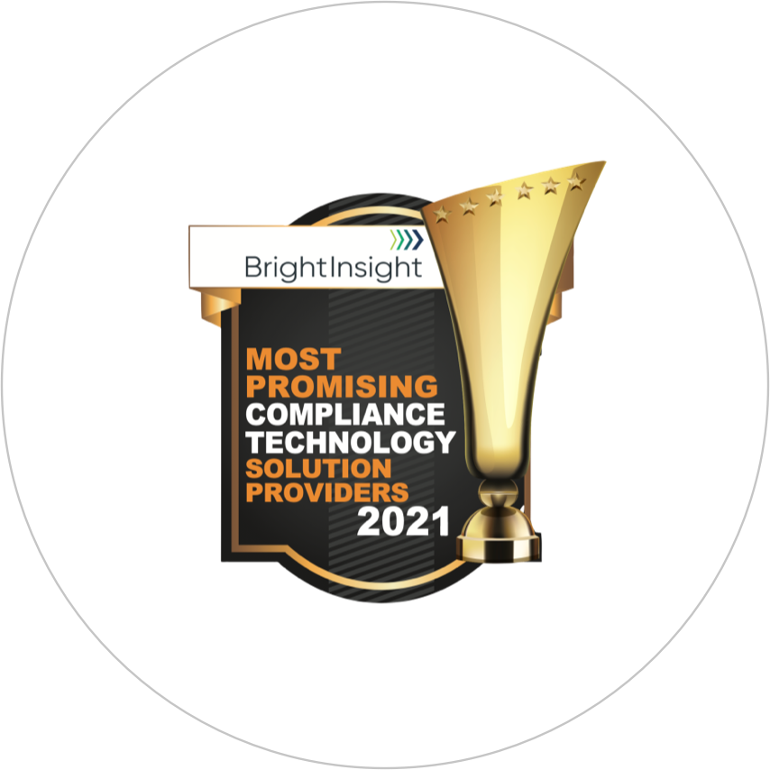 Award 2021 top compliance solutions provider