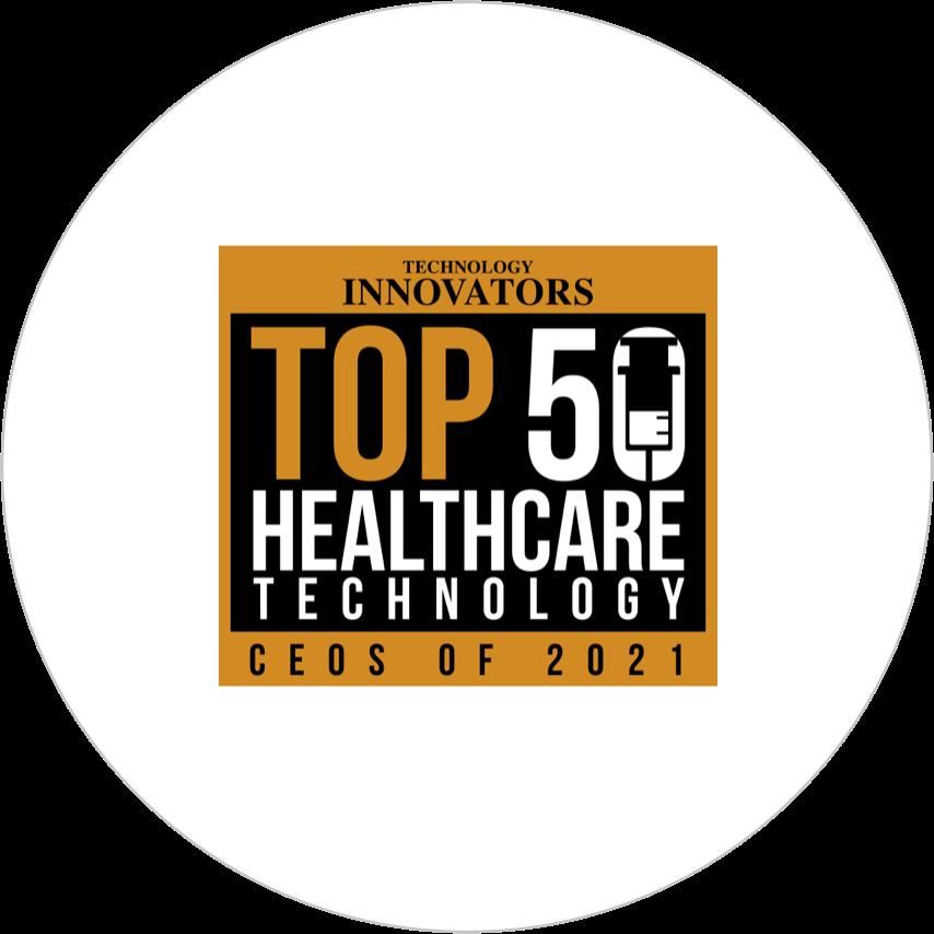 Award top 50 healthcare technology ceo of 2021