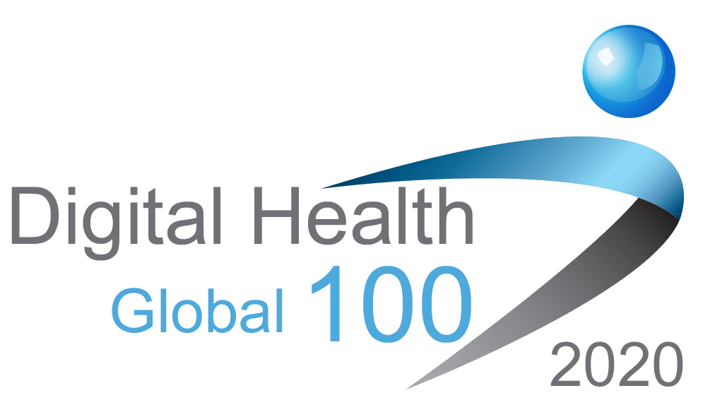 Timeline 2020 Global Digital Health 100 logo