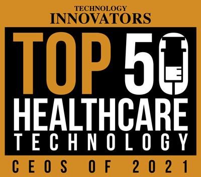 Timeline 2021 healthcare tech ceo logo